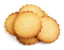 Round cookies Royalty Free Stock Photo