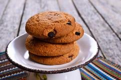 Round cookies Stock Photos