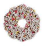 Round cookies with frosting Royalty Free Stock Photography