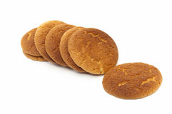 Round cookies Royalty Free Stock Images
