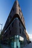 The round corner. Building with round corner in paris Stock Images