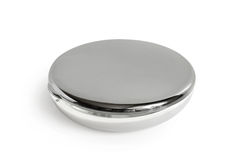Round cosmetic mirror Royalty Free Stock Image