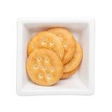 Round cracker Stock Photography