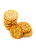 Round crackers Stock Photo