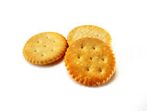 Round crackers Stock Photography