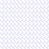 Round curl seamless pattern Royalty Free Stock Photography