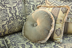 Round cushion Stock Photo
