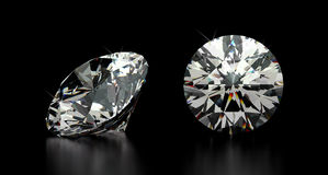 Round Cut Diamond Stock Images