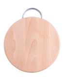 Round cutting board Stock Photography