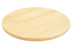 Round cutting board Royalty Free Stock Photo