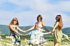 Round dance Stock Photo