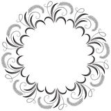Round decorative frame Royalty Free Stock Image