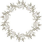 Round decorative frame Royalty Free Stock Photos