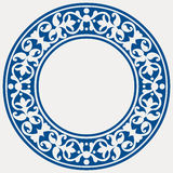 Round decorative frame Royalty Free Stock Photography