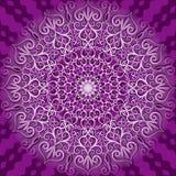 Round decorative pattern Stock Photo