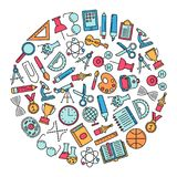 Education design element Royalty Free Stock Image