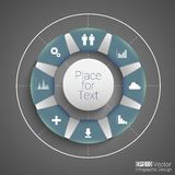 Round design Royalty Free Stock Images