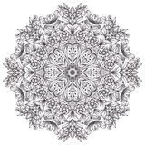 Round detailed pattern Stock Photography