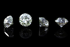 Round  diamond Royalty Free Stock Image