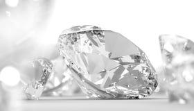 Round Diamond Background Stock Photo