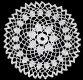 Round doily Royalty Free Stock Images