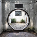 Round doorway Stock Image