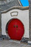 Round doorway in Shanhaiguan Old Town Stock Photos