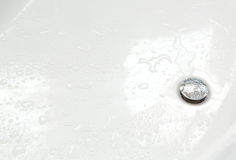 Round drain hole Royalty Free Stock Image