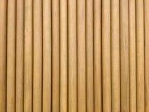 Round drewniani kije Tło Ścienny wzór fotografia royalty free