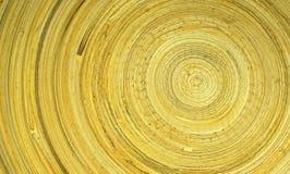Round drewniany wzór Zdjęcie Royalty Free