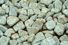 Round-edged Pebbles Royalty Free Stock Image