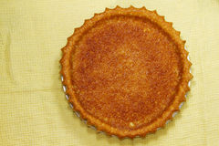Round egg pie Stock Images