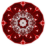 Round ethnic pattern Stock Image