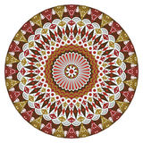 Round ethnic pattern Royalty Free Stock Photos