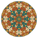 Round ethnic pattern Royalty Free Stock Image