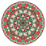 Round ethnic pattern Royalty Free Stock Photography