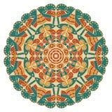 Round ethnic pattern Royalty Free Stock Photo
