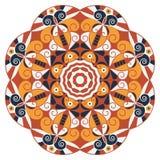 Round ethnic pattern Stock Photos