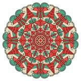 Round ethnic pattern Royalty Free Stock Photos