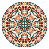 Round ethnic pattern Stock Photos