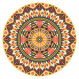 Round ethnic pattern Royalty Free Stock Photo