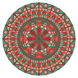 Round ethnic pattern Stock Photography