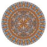 Round ethnic pattern Stock Photo