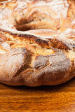 Round Farm Bread Royalty Free Stock Photography