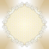 Round floral background Royalty Free Stock Images