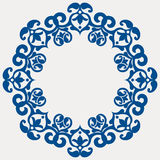 Round floral garland Royalty Free Stock Photos