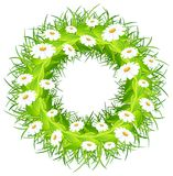 Round flower wreath Royalty Free Stock Photos