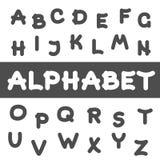 Round Font. Royalty Free Stock Photo