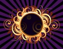 Round frame Royalty Free Stock Photos
