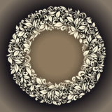 Round frame Royalty Free Stock Photography